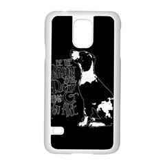 Dog person Samsung Galaxy S5 Case (White)