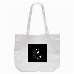 Dog person Tote Bag (White)