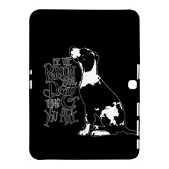 Dog person Samsung Galaxy Tab 4 (10.1 ) Hardshell Case