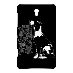 Dog person Samsung Galaxy Tab S (8.4 ) Hardshell Case