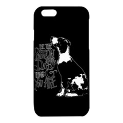 Dog person iPhone 6/6S TPU Case
