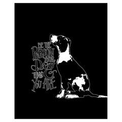 Dog person Drawstring Bag (Small)