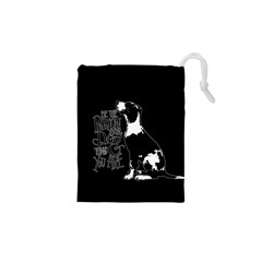 Dog person Drawstring Pouches (XS)