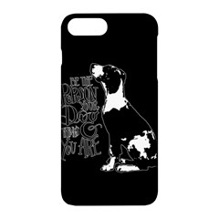 Dog person Apple iPhone 7 Plus Hardshell Case