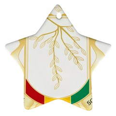 Coat of Arms of Republic of Guinea  Ornament (Star)