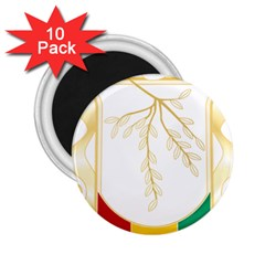 Coat of Arms of Republic of Guinea  2.25  Magnets (10 pack)