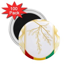 Coat of Arms of Republic of Guinea  2.25  Magnets (100 pack)