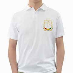 Coat of Arms of Republic of Guinea  Golf Shirts