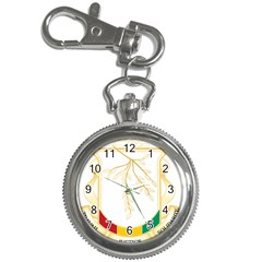 Coat of Arms of Republic of Guinea  Key Chain Watches