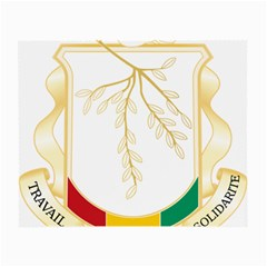 Coat of Arms of Republic of Guinea  Small Glasses Cloth