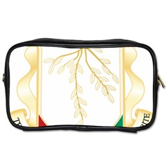 Coat of Arms of Republic of Guinea  Toiletries Bags 2-Side