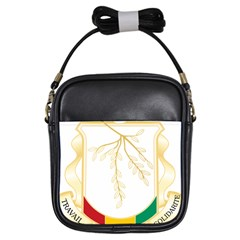 Coat of Arms of Republic of Guinea  Girls Sling Bags