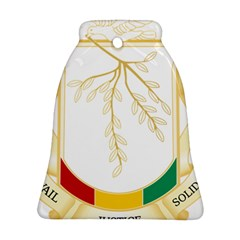 Coat of Arms of Republic of Guinea  Bell Ornament (Two Sides)