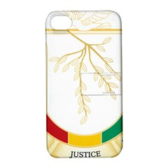 Coat of Arms of Republic of Guinea  Apple iPhone 4/4S Hardshell Case with Stand