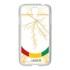 Coat of Arms of Republic of Guinea  Samsung GALAXY S4 I9500/ I9505 Case (White)