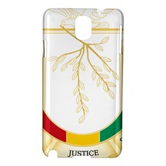 Coat of Arms of Republic of Guinea  Samsung Galaxy Note 3 N9005 Hardshell Case