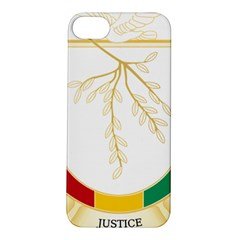 Coat of Arms of Republic of Guinea  Apple iPhone 5S/ SE Hardshell Case