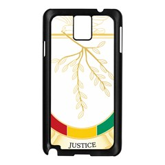 Coat of Arms of Republic of Guinea  Samsung Galaxy Note 3 N9005 Case (Black)