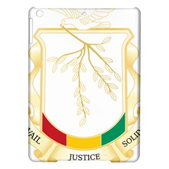 Coat of Arms of Republic of Guinea  iPad Air Hardshell Cases
