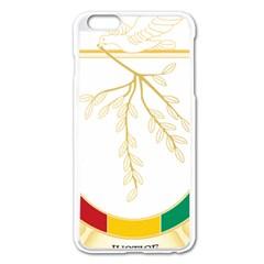 Coat of Arms of Republic of Guinea  Apple iPhone 6 Plus/6S Plus Enamel White Case