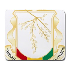 Coat of Arms of Republic of Guinea  Large Mousepads