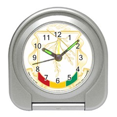 Coat of Arms of Republic of Guinea  Travel Alarm Clocks