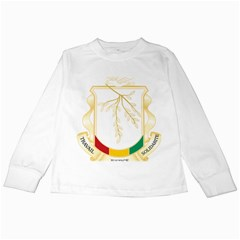Coat of Arms of Republic of Guinea  Kids Long Sleeve T-Shirts