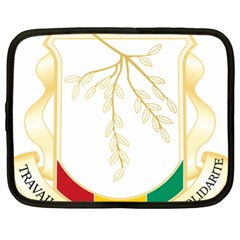 Coat of Arms of Republic of Guinea  Netbook Case (XL)