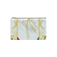 Coat of Arms of Republic of Guinea  Cosmetic Bag (Small)