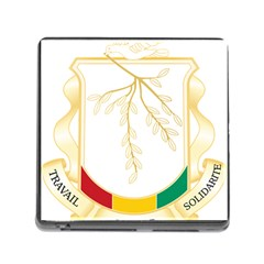 Coat of Arms of Republic of Guinea  Memory Card Reader (Square)