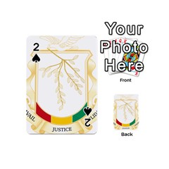 Coat of Arms of Republic of Guinea  Playing Cards 54 (Mini)