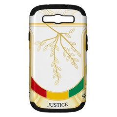Coat of Arms of Republic of Guinea  Samsung Galaxy S III Hardshell Case (PC+Silicone)