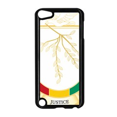 Coat of Arms of Republic of Guinea  Apple iPod Touch 5 Case (Black)