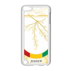 Coat of Arms of Republic of Guinea  Apple iPod Touch 5 Case (White)