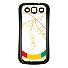 Coat Of Arms Of Republic Of Guinea  Samsung Galaxy S3 Back Case (black)
