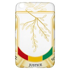 Coat of Arms of Republic of Guinea  Samsung Galaxy Tab 3 (8 ) T3100 Hardshell Case