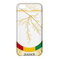 Coat of Arms of Republic of Guinea  Apple iPhone 5C Hardshell Case