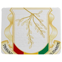 Coat of Arms of Republic of Guinea  Jigsaw Puzzle Photo Stand (Rectangular)