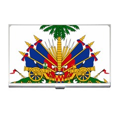 Coat of Arms of Haiti Business Card Holders