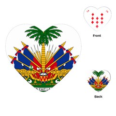 Coat of Arms of Haiti Playing Cards (Heart)
