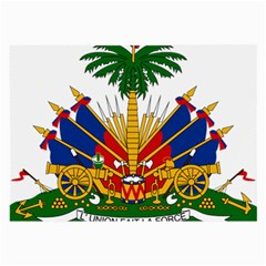 Coat of Arms of Haiti Large Glasses Cloth (2-Side)