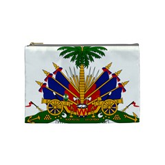 Coat of Arms of Haiti Cosmetic Bag (Medium)