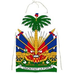 Coat Of Arms Of Haiti Full Print Aprons