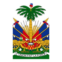 Coat of Arms of Haiti Shower Curtain 48  x 72  (Small)