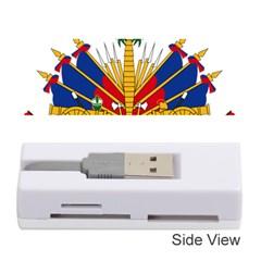 Coat of Arms of Haiti Memory Card Reader (Stick)
