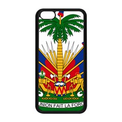 Coat of Arms of Haiti Apple iPhone 5C Seamless Case (Black)