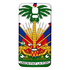 Coat of Arms of Haiti Samsung Galaxy S5 Back Case (White)