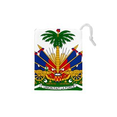 Coat of Arms of Haiti Drawstring Pouches (XS)