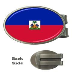Flag of Haiti  Money Clips (Oval)