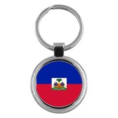 Flag of Haiti  Key Chains (Round)